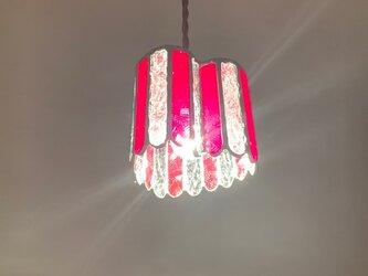 『ヒーリング ナイト』ハート型ランプ ブリリアントルージュ BayViewの画像