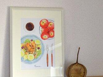 A4ポスター Dishesの画像
