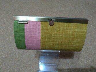 強化 長財布(なごみtorico karashi)の画像