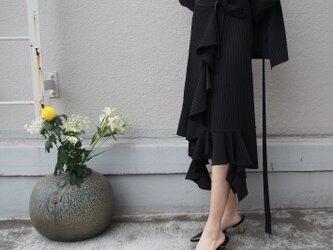【数量限定ハンドメイド送料無料】マーメイドフレア 巻きスカート18066の画像