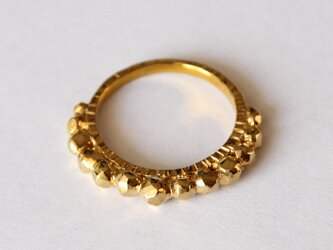 Sparkle ring 真鍮 ひと差し指用 光リングの画像