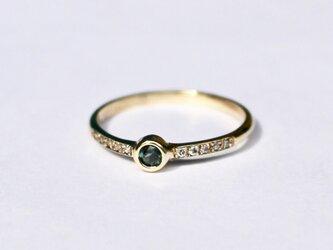 Color Change Garnet 2.5mm Ringの画像