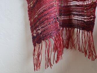 透かし織りスカーフの画像