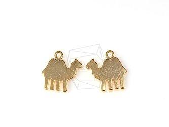 PDT-289-G【2個入り】フラットキャメルシャドウペンダント,Flat Camel Shadow Pendantの画像