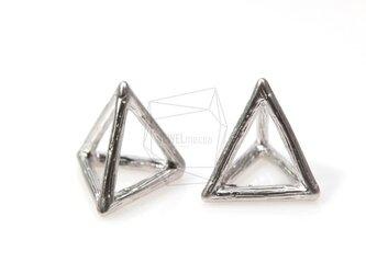 PDT-340-MR【2個入り】3Dトライアングルピラミッドペンダント,Triangle Pyramid Pendantの画像