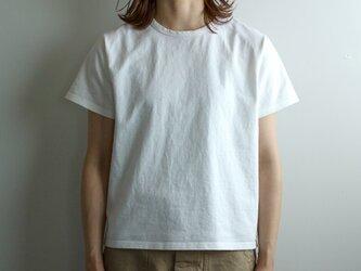 pablo cotton/crew binder t-shirt/white/size 00・0・1の画像