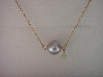 マーメイドの真珠ペンダント♪の画像