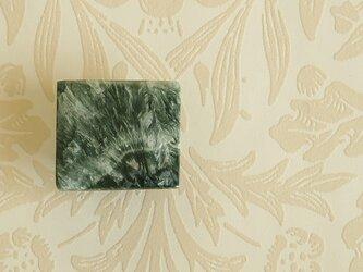 天然石の帯留 ◎ セラフィナイト/C【送料無料】の画像