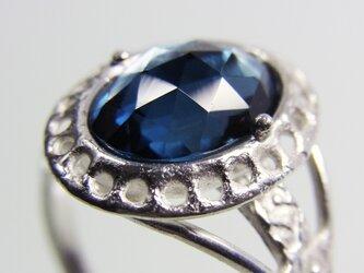 ロンドンブルー トパーズ Topaz Ringの画像