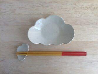 くもの皿の画像