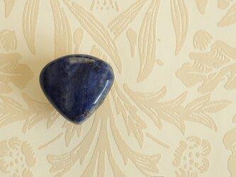 天然石の帯留 ◎ ラピスラズリ/A【送料無料】の画像