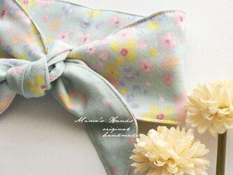 保冷剤 優しい 花柄 ダブルガーゼ 綿100% 節約 快適 エコ スカーフ ネッククーラーの画像