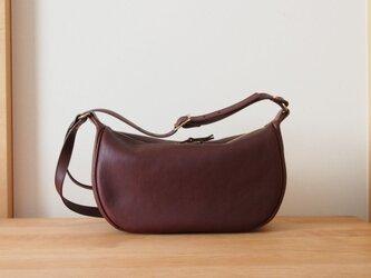 fastener shoulder bag(cacao) - ファスナーショルダーバッグ(カカオ)の画像