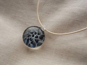 波間8・ガラスのペンダント・コード・ガラス製の画像