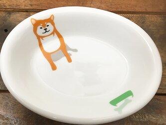 柴犬 ソープディッシュ 3色★ 石けん皿 オーバル 楕円形 14cmの画像