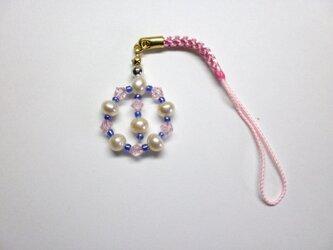 真珠のストラップの画像