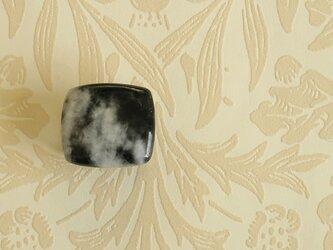 天然石の帯留 ◎ ゼブラクォーツ/A【送料無料】の画像