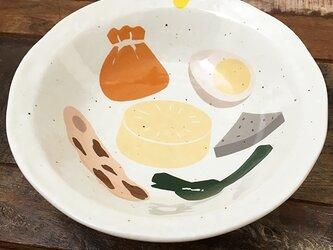 おでんダネ! とんすい 小鉢 粉引 ★ 取り分け皿 ボウル 14cm 日本製の画像