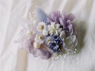 Violet mother's broochの画像