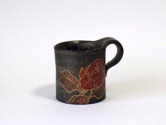 マグカップ(薔薇 金彩)の画像