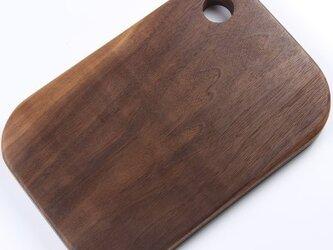 受注生産 職人手作り 調理器具 カットボード まな板 北欧 シンプル ウォールナット 木目 天然木 おしゃれ ナチュラルの画像