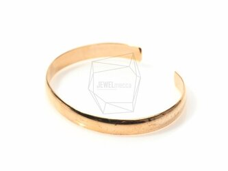 BRA-005-G【1個入り】バンドカフブレスレット,Band Cuff Bracelet/6.5mmの画像