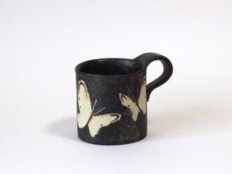 マグカップ(蝶 銀彩)の画像