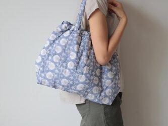 Hand block print bag / no2の画像
