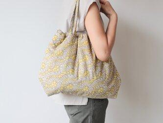 Hand block print bag / no8の画像