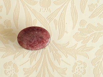 天然石の帯留 ◎ モスコバイト/B【送料無料】の画像