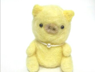 黄色の子ぶたちゃんの画像