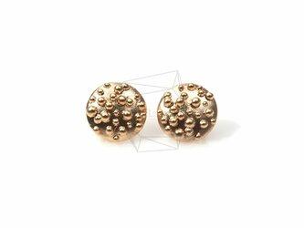 ERG-140-MG【2個入り】サークルドットピアス,Circle Dots Post Earringsの画像