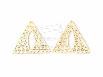 PDT-603-MG【4個入り】テクスチャトライアングルチャーム,Textured Triangle Charmの画像