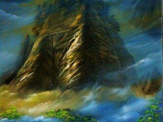 幻想・・・尾瀬、霞む山の画像