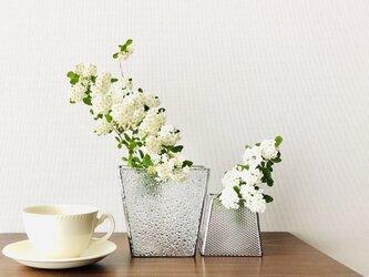 *再販*花瓶・Paire2(クリア)の画像