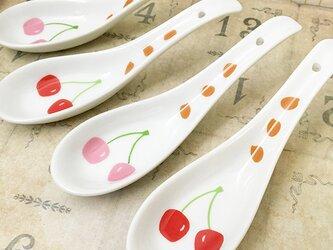 さくらんぼ 種まき れんげ ピンク or 赤 ★ 約12.5cm 鍋料理 スイーツにの画像