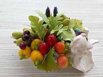 ☆クレイフラワー(お野菜たっぷり)☆の画像