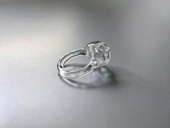 こぼれないアロマリング -Block Ice- 指輪の画像