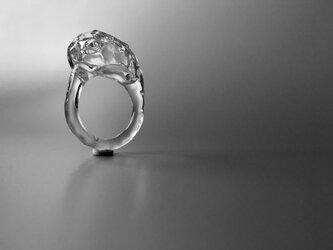 こぼれないアロマリング -Distorted Ice- 歪み YuGaMi 指輪の画像