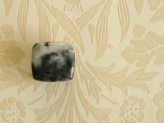天然石の帯留 ◎ ゼブラクォーツ/B【送料無料】の画像