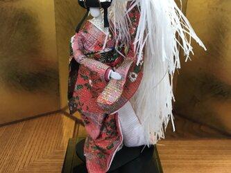 本格派友禅和紙人形(#006八重垣姫)の画像