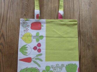 野菜柄のエコバッグの画像