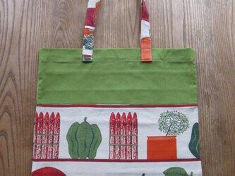 野菜棚のエコバッグの画像