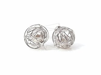 PDT-600-R【4個入り】ワイヤーノットボールチャーム,/Wire Knot Ball Charmの画像