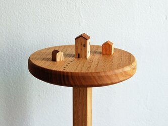 m様オーダー品 小さな家のキッチンペーパーホルダーの画像