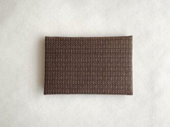 絹カード入れ(絣・C)の画像