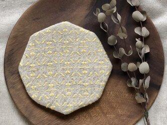 ⌘こぎん刺しコースター(8角形)⌘『モドコ:オリジナル』の画像