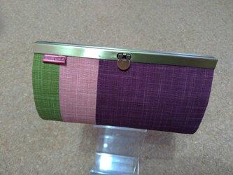強化 長財布(なごみtorico purple)の画像
