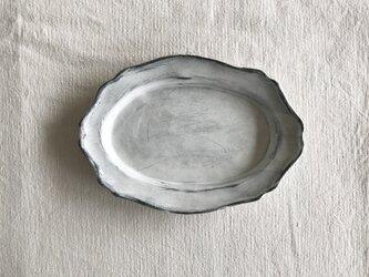 リムオーバルアンティカ洋皿の画像