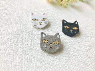 猫のブローチ/GYの画像